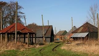 Foto uit 2005 van vervallen hooibergterrein Hasselt