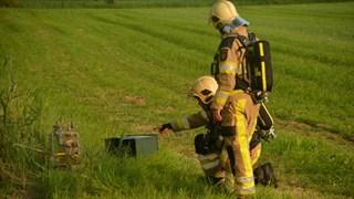 Trekker rijdt gaskastje omver in buitengebied van Lierderholthuis