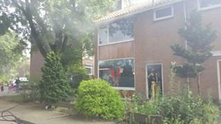 Flinke schade door brand in woning in Hengelo