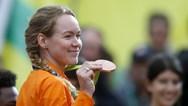 Huldiging Anna van der Breggen