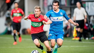 Zwolle oefent tegen NEC