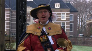 Al 19 jaar is René Coupée stadsomroeper.