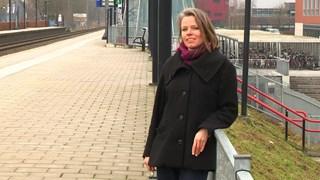 Wetenschapper Mariëlle Stoelinga gaat treinvertragingen en storingen onderzoeken