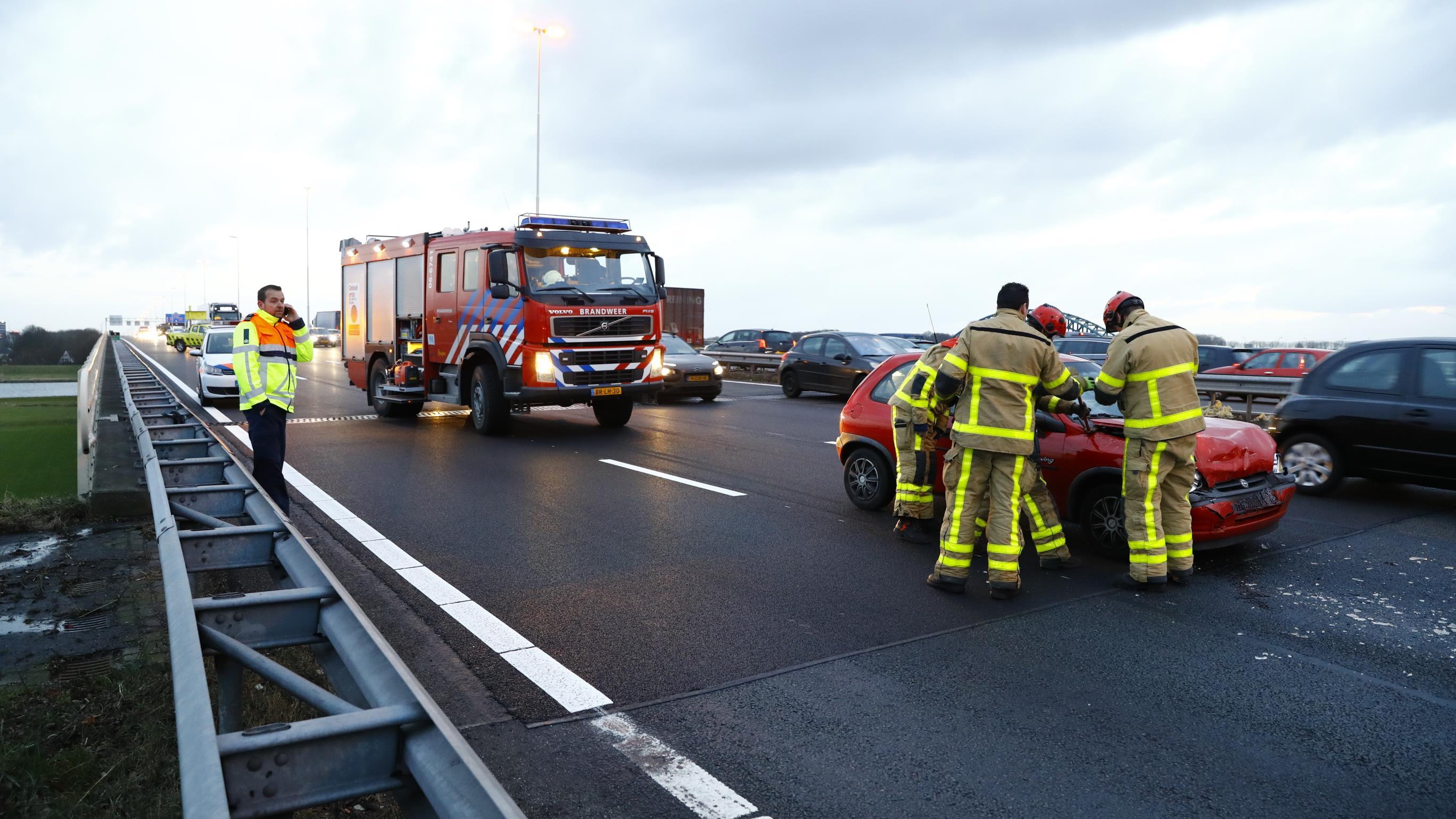 Ook files op A28 bij Zwolle na ongelukken