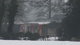 Schoorsteenbrand in woning in buitengebied Markelo
