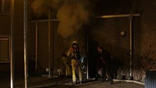 Schuur in Zwolle zwaarbeschadigd door brand