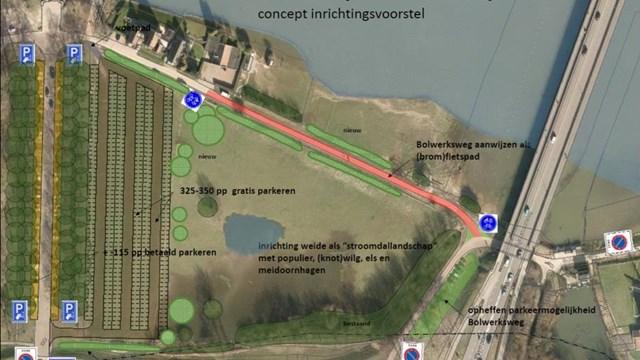 Voorstel voor parkeren - fotograaf: gemeente Deventer
