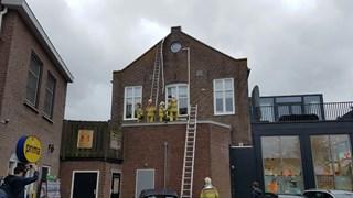 Schade aan dak woning