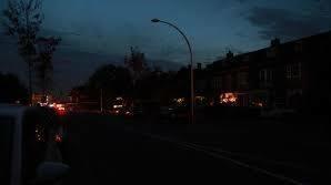Donkere straten in Beckum