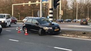 Aanrijding met schade aan auto