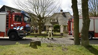 Brandweer controleert zwembad in woning