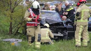 Ongeval op A32 bij Darp