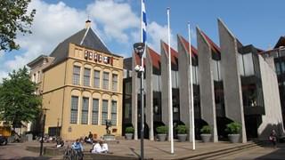 Stadhuis aan Grote Kerkplein in Zwolle