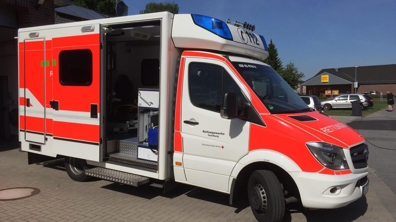 Nederlandse vrouw zwaargewond bij ongeval over de grens bij Ootmarsum.