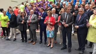 Twentse burgemeesters geven startsein Twenterun