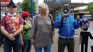 Protest Pegida in Hengelo