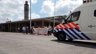 De demonstraties gingen later door in Hengelo