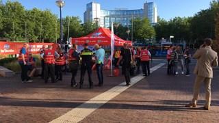 Staking personeel NS in Zwolle