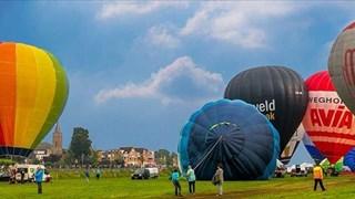 Ballonfestival langs de Vecht in Hardenberg