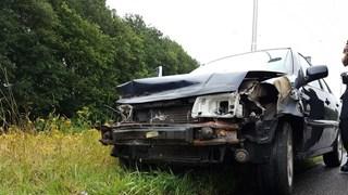 Auto total loss bij Borne