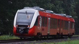 Trein van Syntus tussen Goor en Lochem