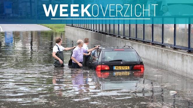 Deze week in het nieuws: noodweer in Twente, fikse branden en Joey Hoffmann