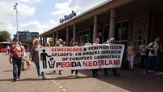 Pegida week onlangs uit naar Hengelo na verbod