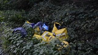 hennepafval gedumpt in Enschede