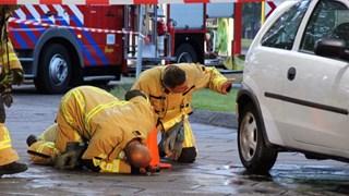 brandstoflek in auto