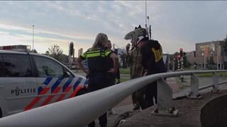 YouTubers breken in bij Dinoland Zwolle