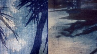 Details van nieuwe schilderijen