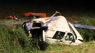 Zwaargewonde bij eenzijdig ongeluk op N50 bij Ens