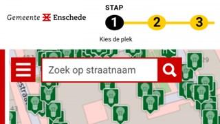 De nieuwe site van de gemeente Enschede
