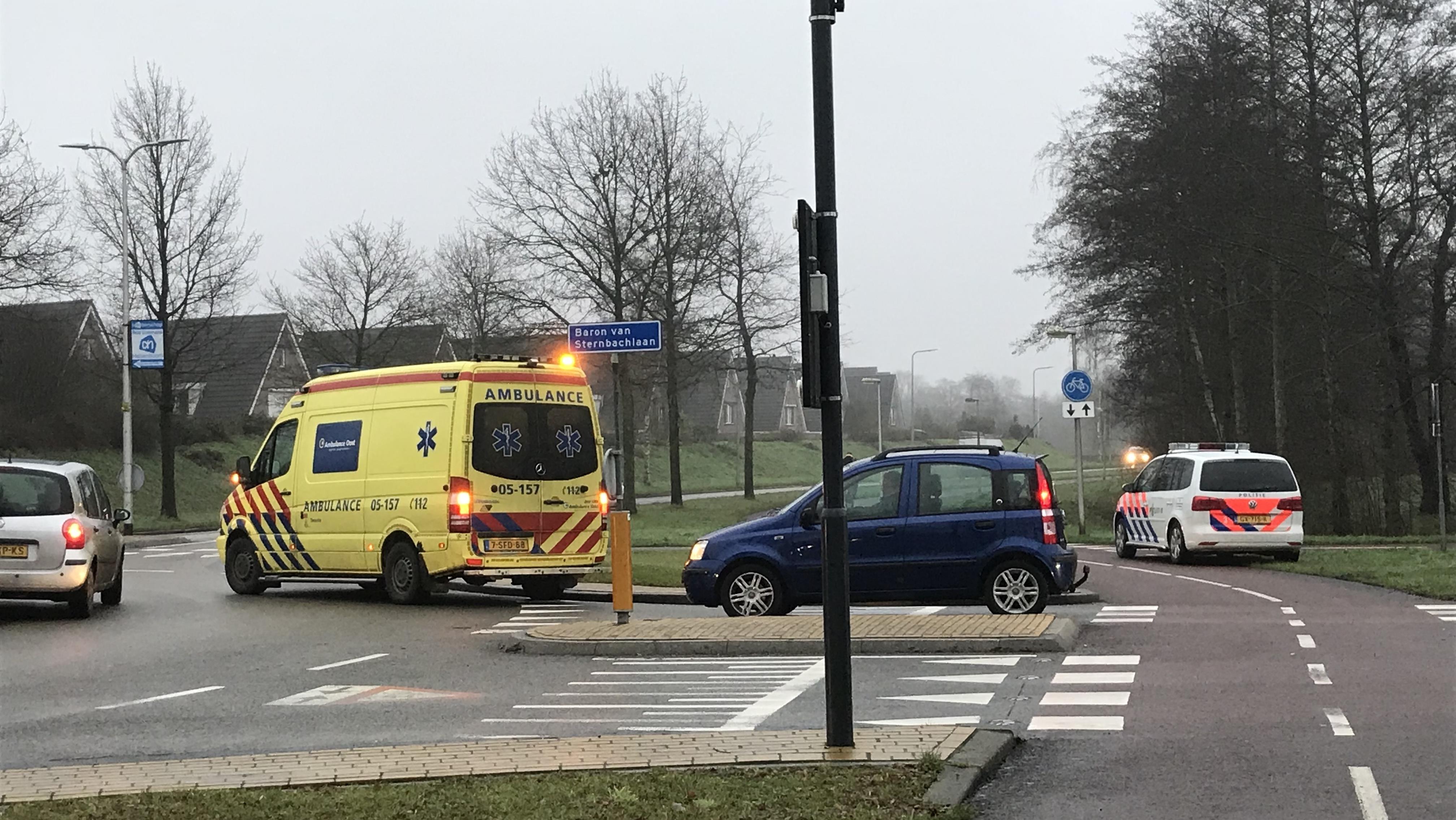 Fietser gewond bij aanrijding in Nijverdal.