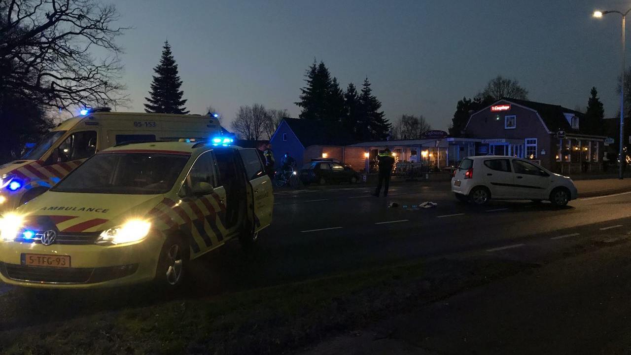 Voetganger aangereden door automobilist in Albergen.