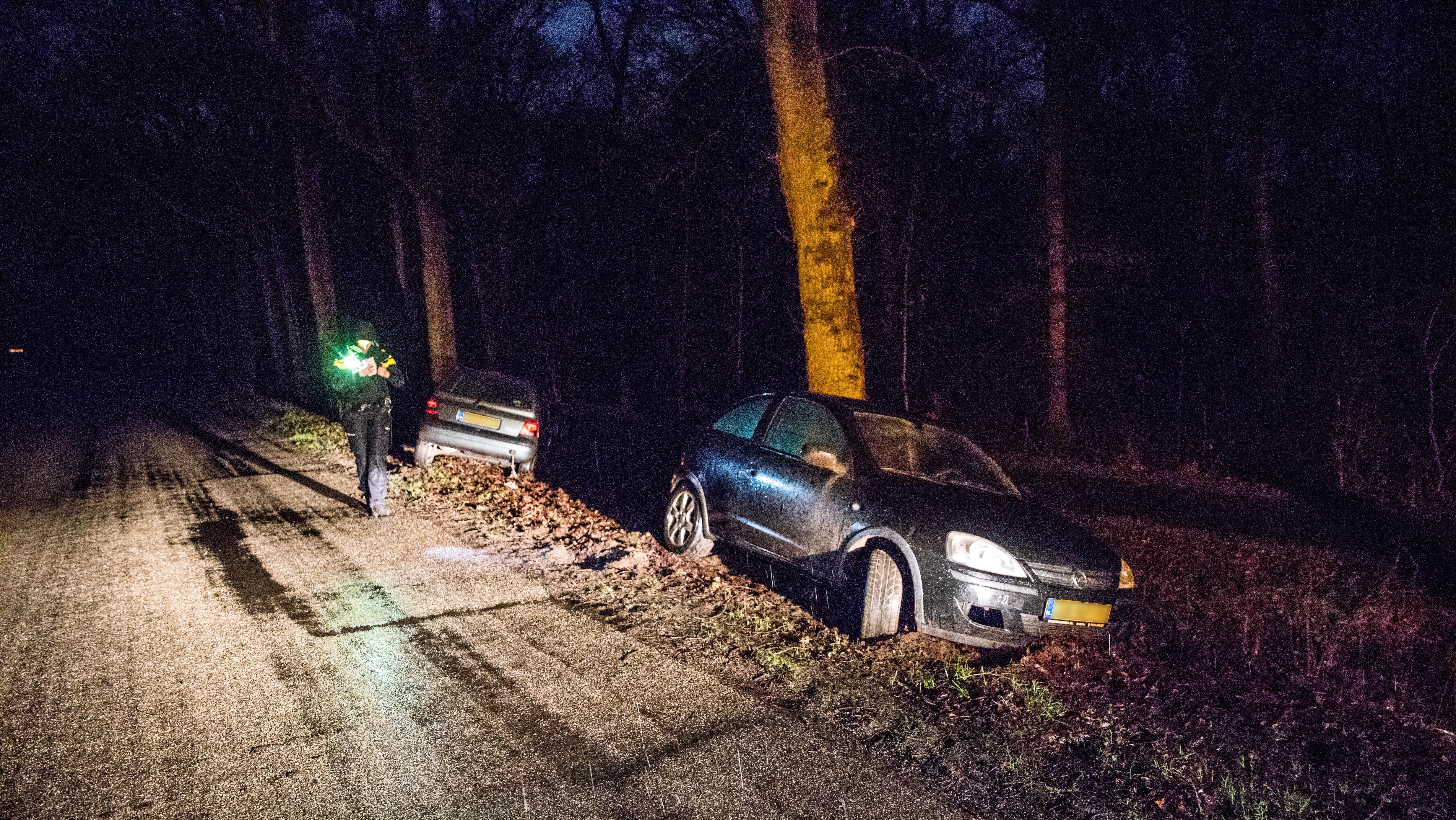 Ongeluk in Ommen blijkt pechgeval, bestuurster mogelijk onder invloed.