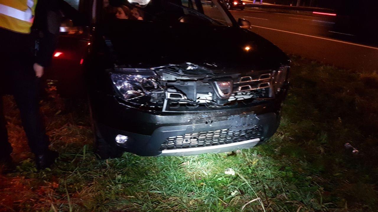 Groot ongeval op A35 bij Borne, meerdere autos betrokken.