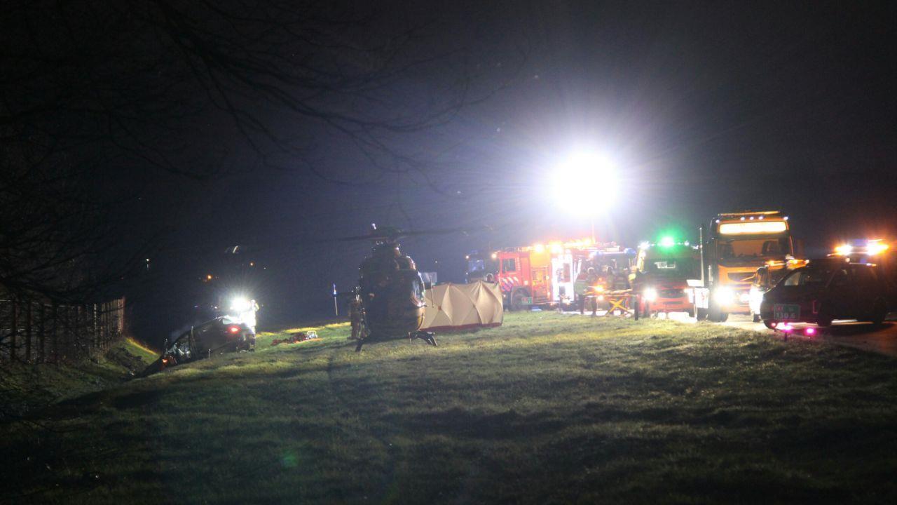 Man uit Meppel overleden bij ongeluk op A1 bij Rijssen.