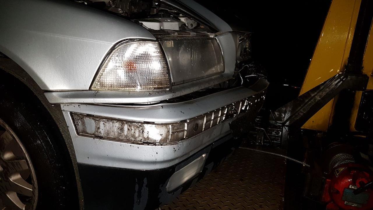 Ongeluk met drie autos op A1 bij Hengelo.