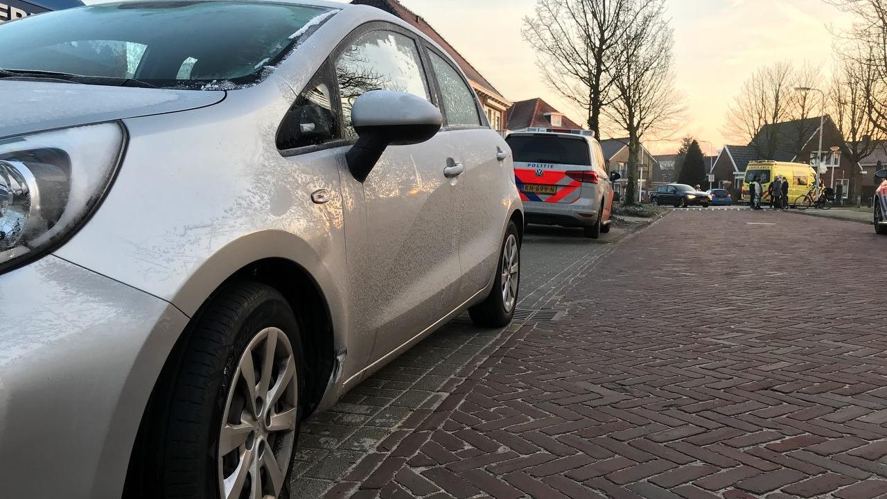 Fietsster gewond bij botsing in Denekamp.