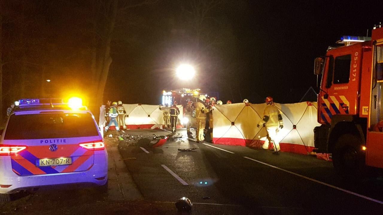 Twee gewonden bij ernstig ongeval op N746 in Harbrinkhoek.