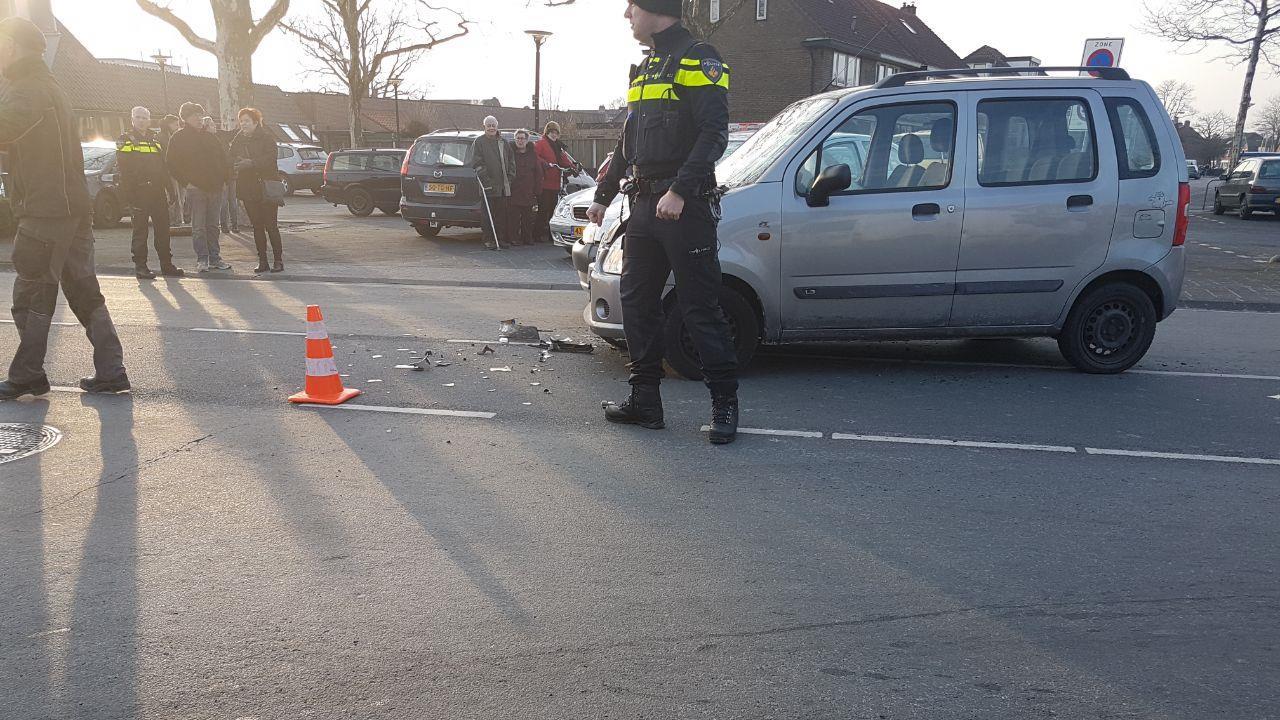 Automobilist gewond bij ongeluk in Hengelo.