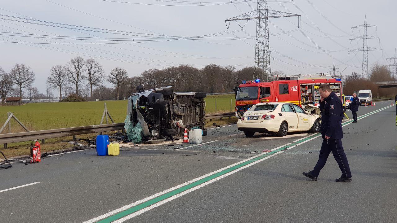 Twee doden bij zwaar ongeval vlak over de grens bij Gronau.