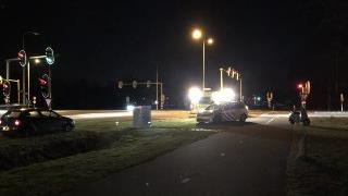 Scooterrijder gewond bij botsing met auto in Almelo.