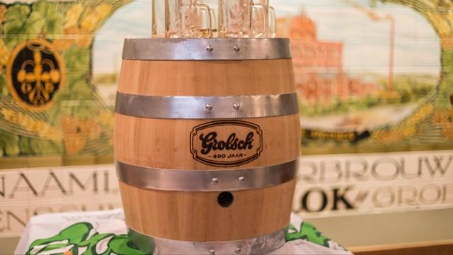 De Grolsche Bierbrouwerij heeft vrijdag en zaterdag een Grolsch Brouwerij Tour - fotograaf: RTV Oost / Rogier van den Berg