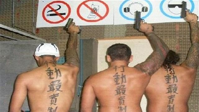 De \'tattookillers\' worden door Justitie verdacht van de moord op Kuut - fotograaf: politie