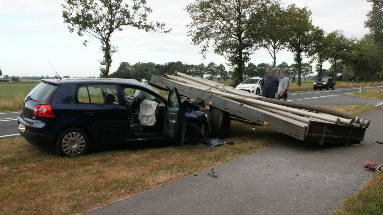 Betrokken automobilist: Ongeluk George Clooney door felle zon.