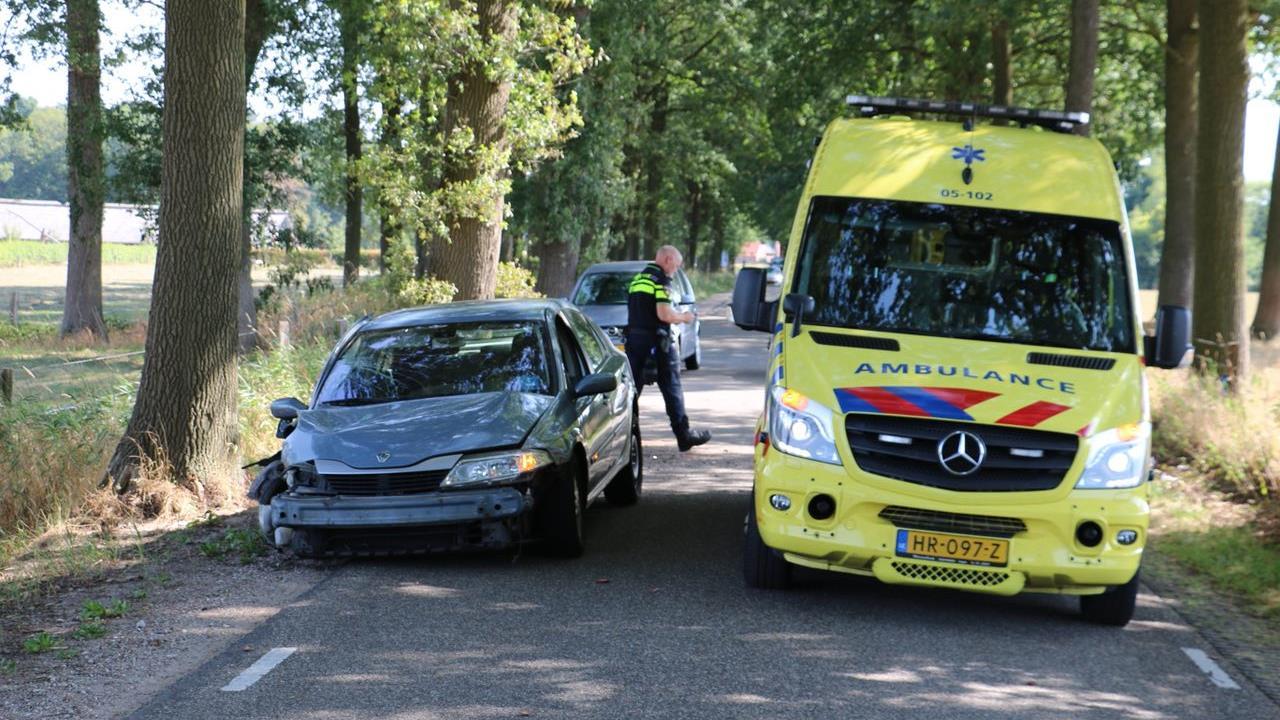Twee gewonden bij ongeval in De Lutte.