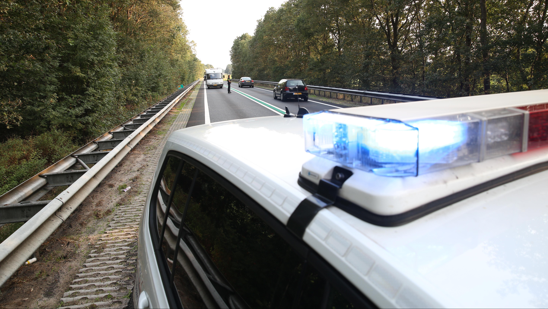 Gewonde bij ongeluk op N36 bij Vriezenveen.