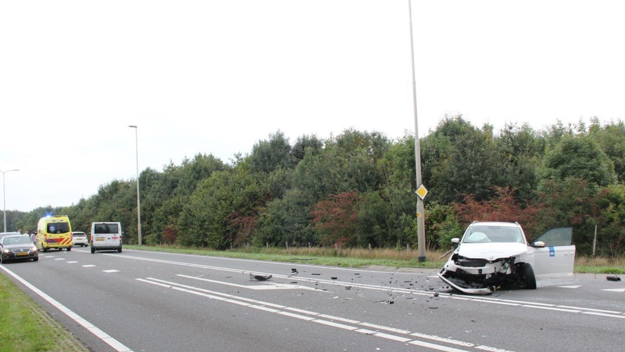 Gewonden bij ongeval op N332 bij Holten.
